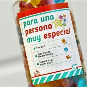 BOTE CHUCHES Regala sonrisas: para una persona muy especial