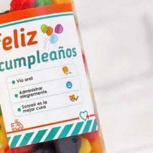 BOTE CHUCHES Regala sonrisas al cumpleañer@: Feliz Cumpleaños