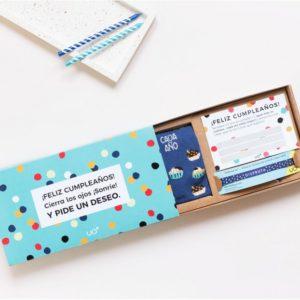 """Kit de cumpleaños """"Pide un deseo"""" Cada año mejor UO"""