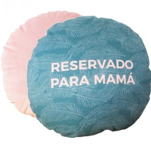 """Cojín """"Reservado para mamá"""" UO"""