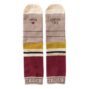calcetines de algodón para regalar a una amiga